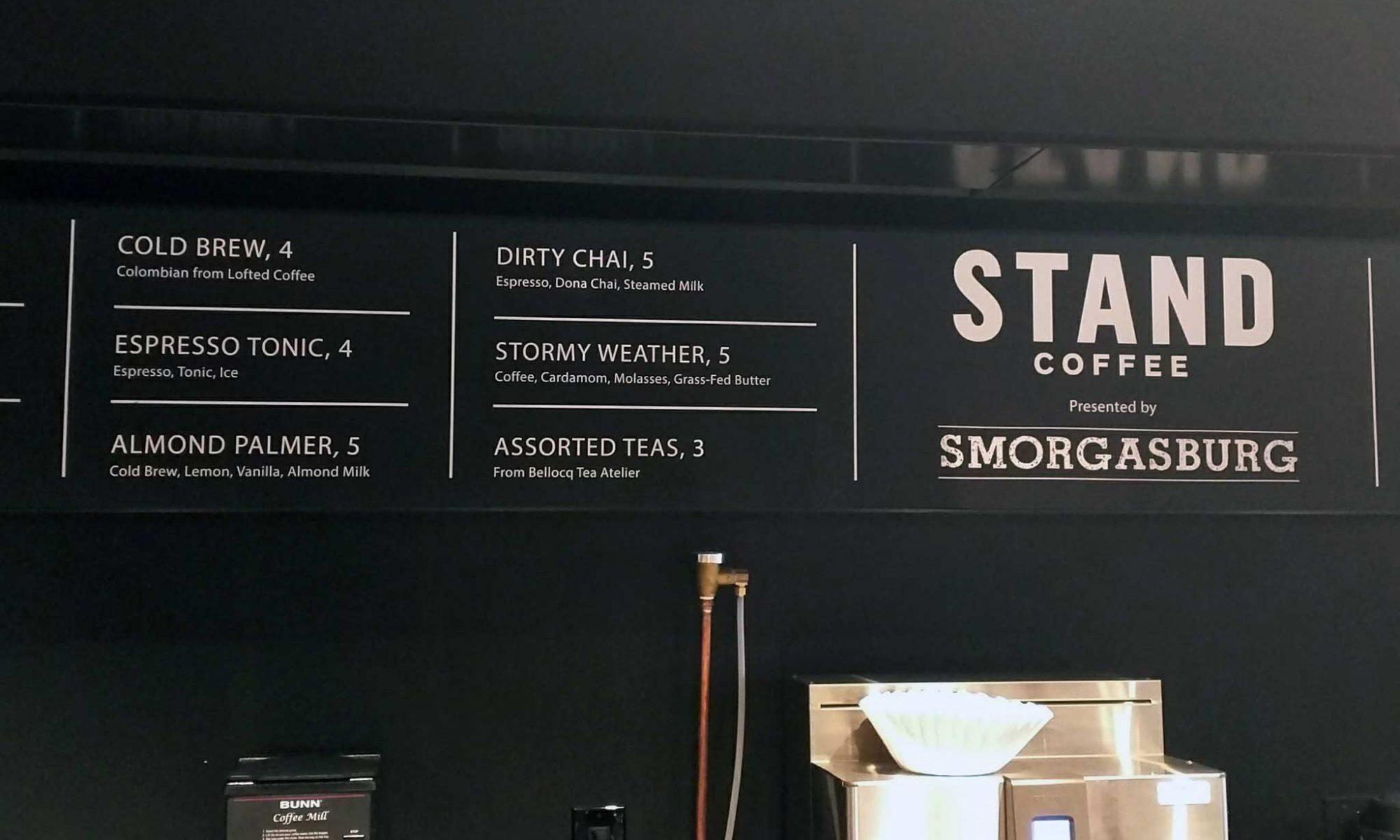 EC: Stand Coffee's Almond Palmer Is a Lemonade-Coffee Hybrid
