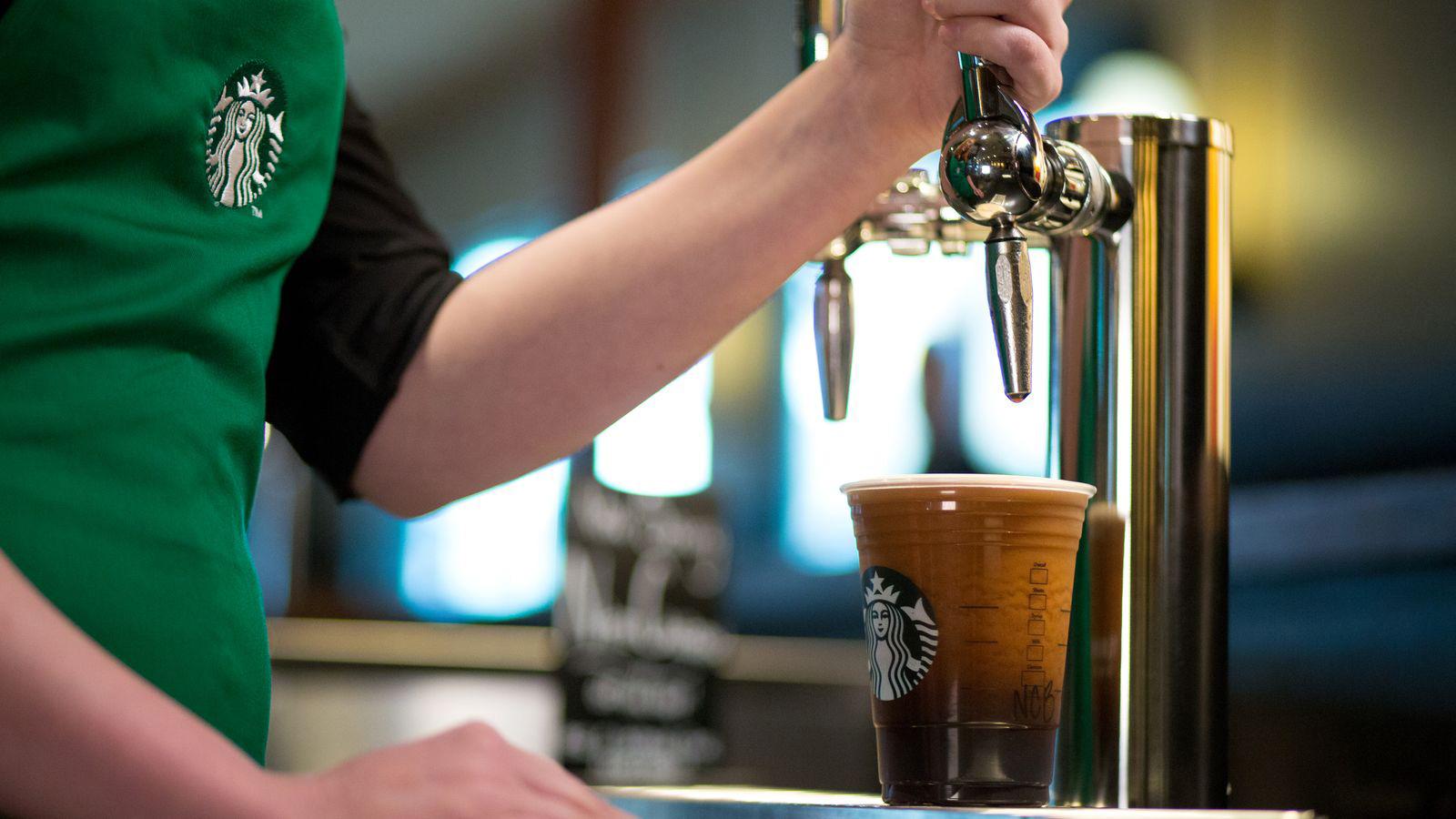 EC: Starbucks Nitro Cold Brew Launches