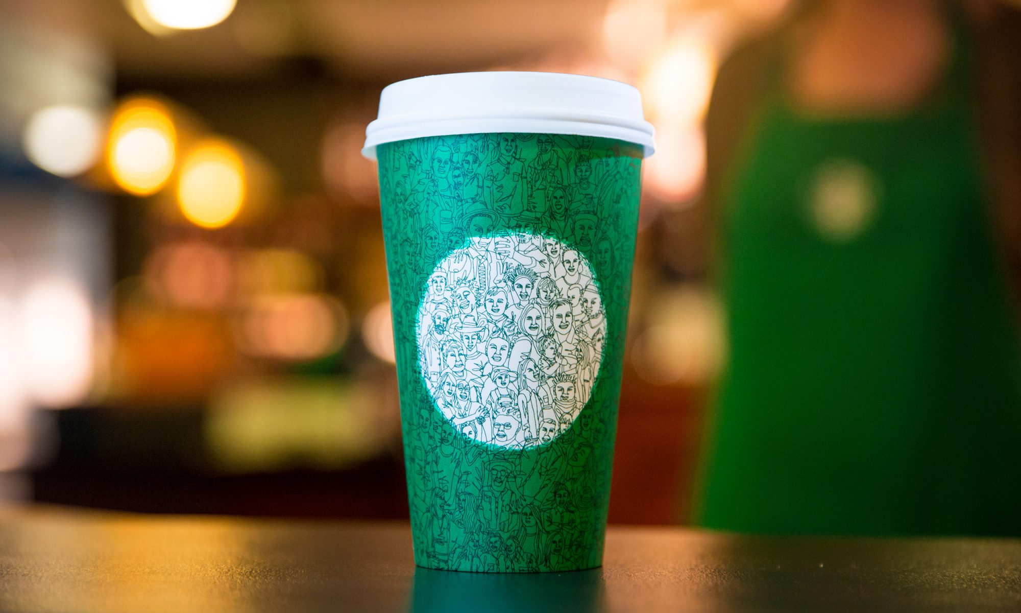 EC: Starbucks' New Green Cup Means You Can Get Into the Holiday Spirit Early