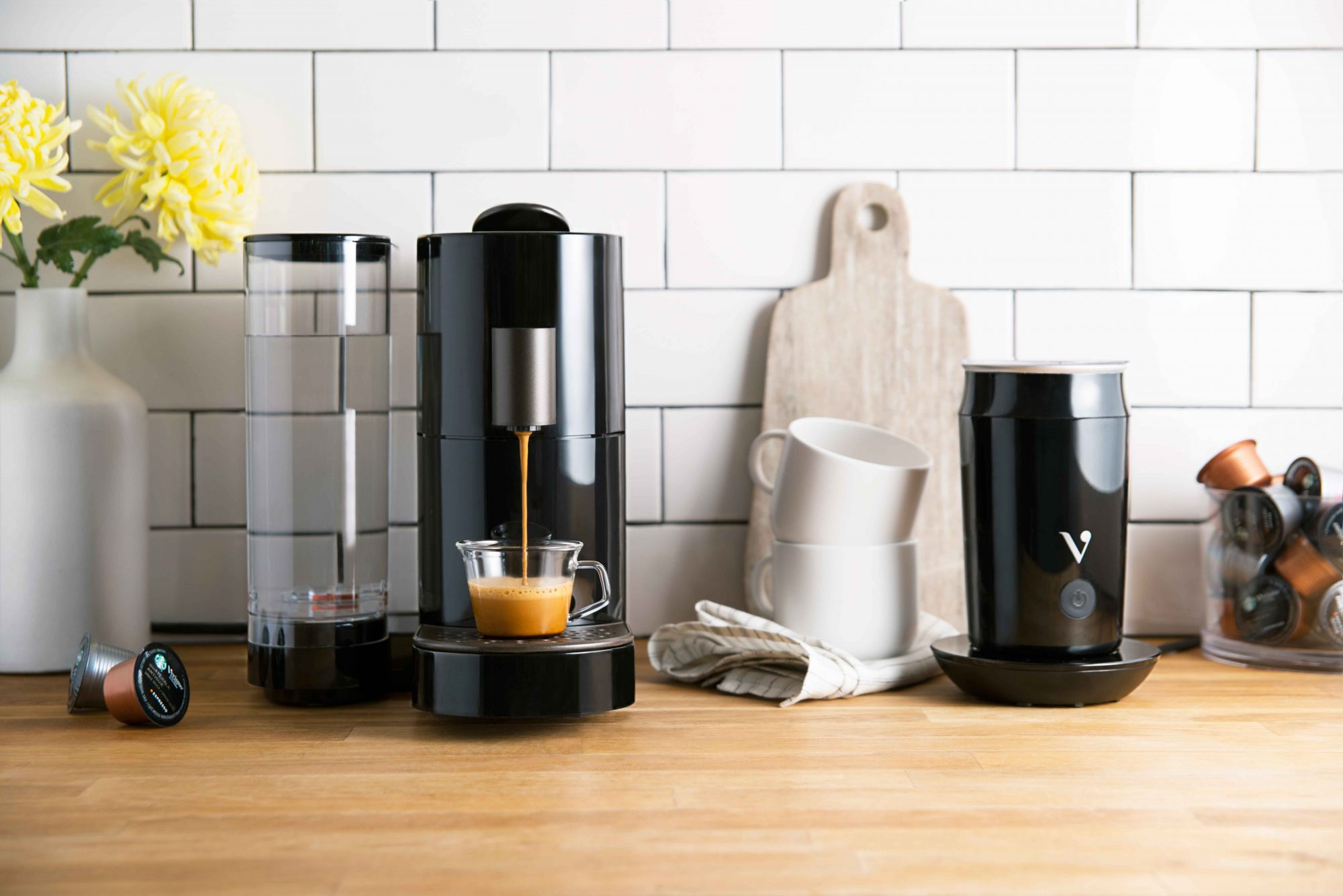 EC: Starbucks Steps Up Coffee Pod Game with New Verismo V Brewing System