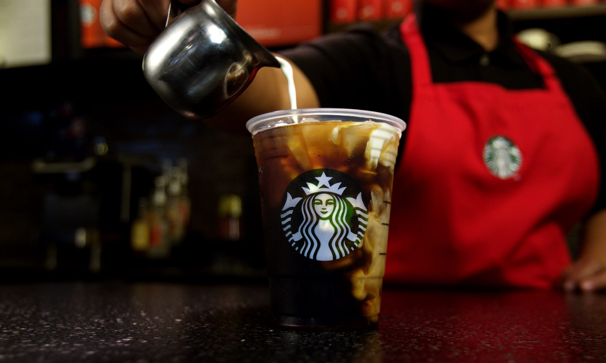 EC: Starbucks' New Holiday Drink Is Served on Ice