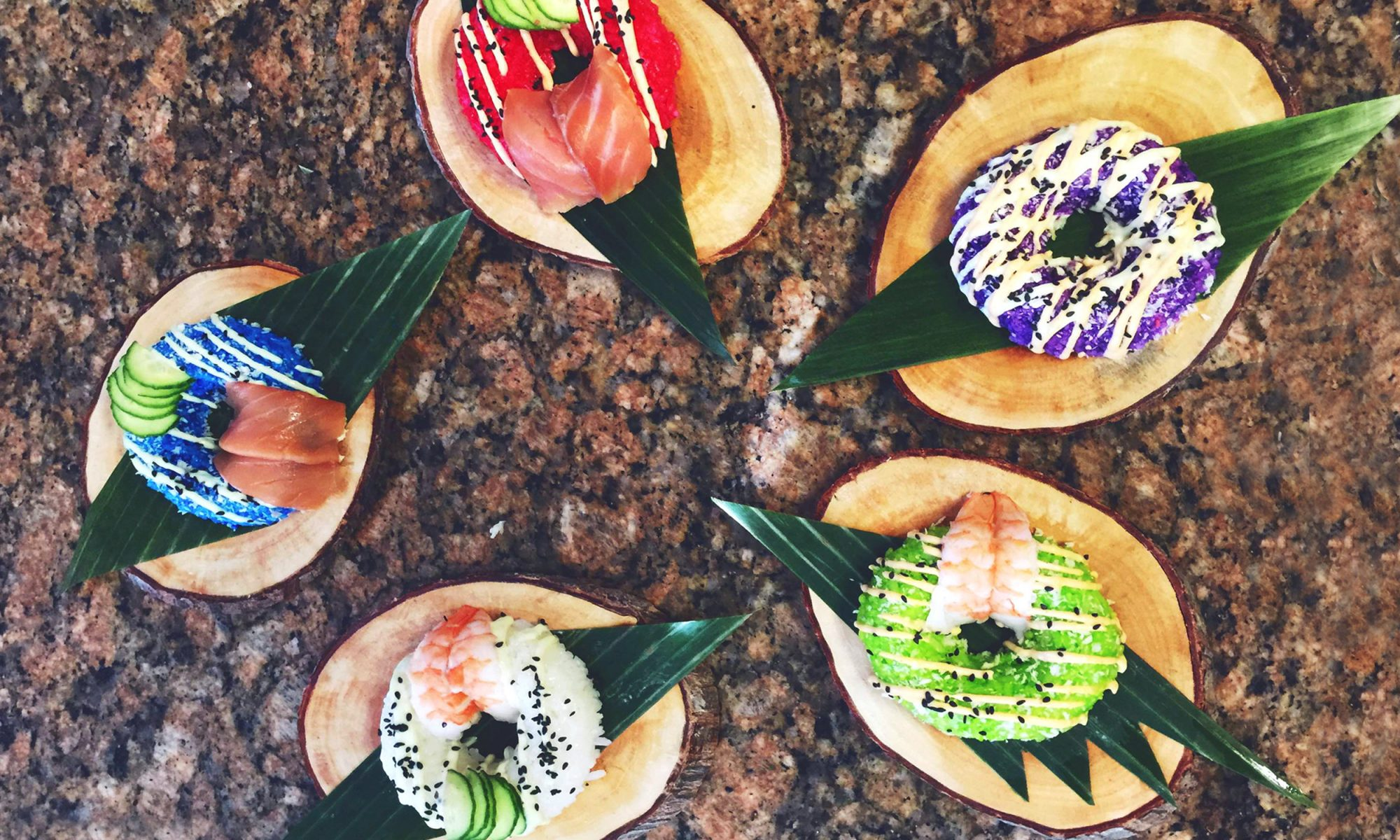 EC: Sushi Doughnuts Are a New Way to Eat Breakfast for Dinner