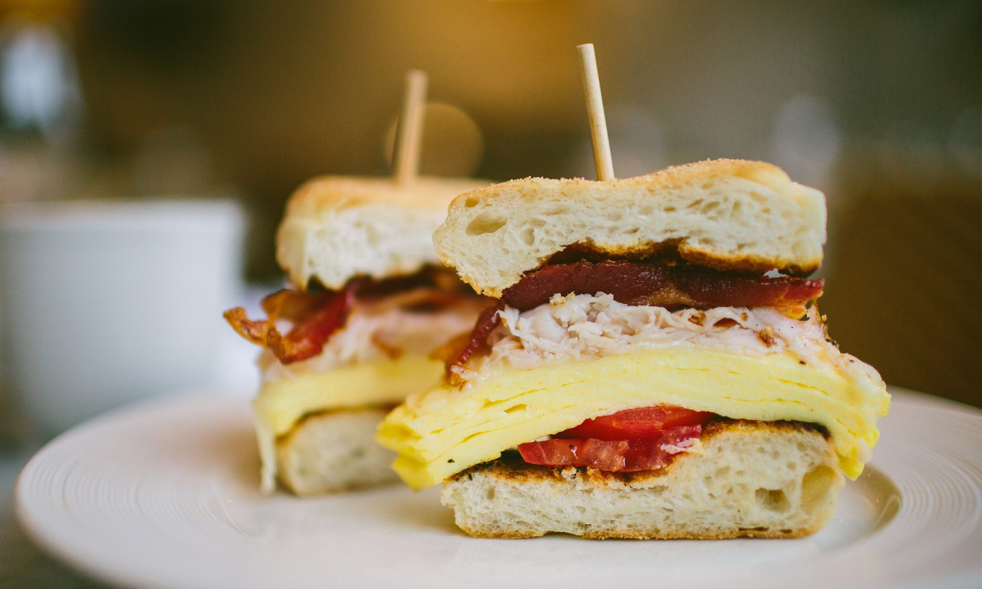 Give Thanks for Leftover Turkey Breakfast Sandwiches