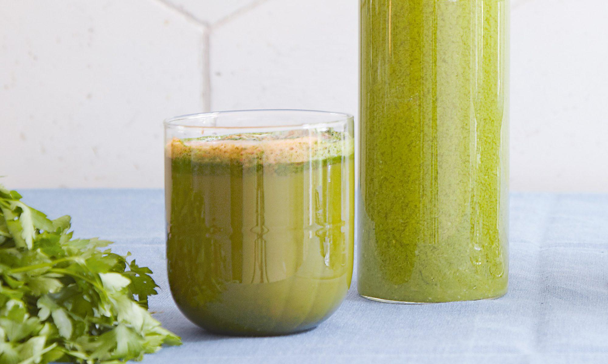 This Green Juice Has More Vitamin C Than Orange Juice