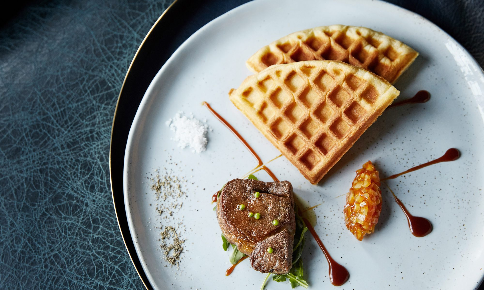 Foie Gras and Waffles Co-Star in an Offaly Glamorous Brunch