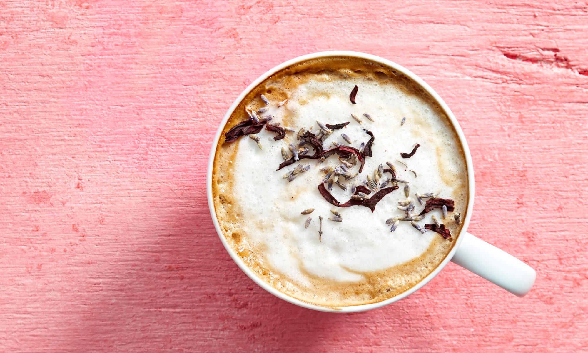 floral latte video hero