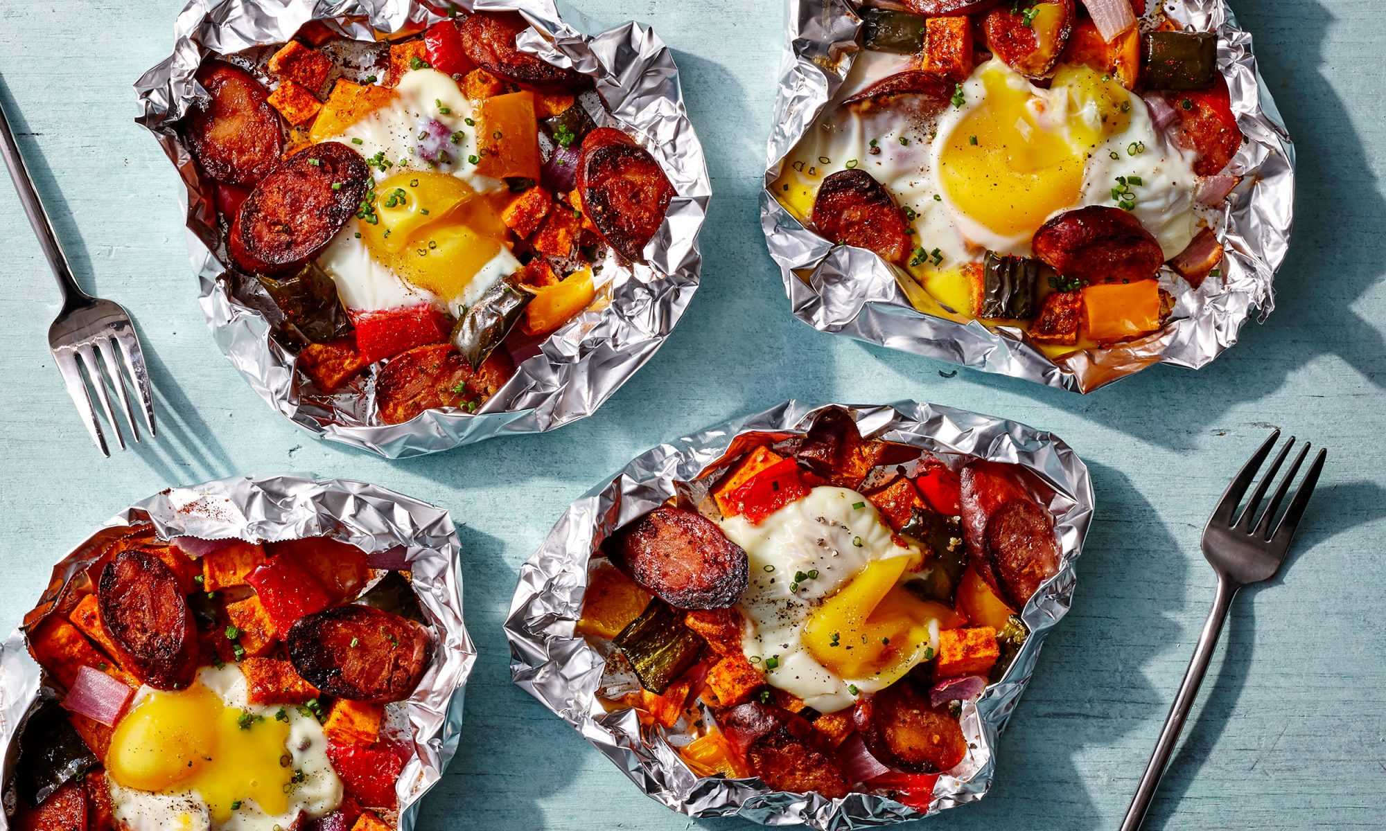 foil packet sweet potato hash video hero