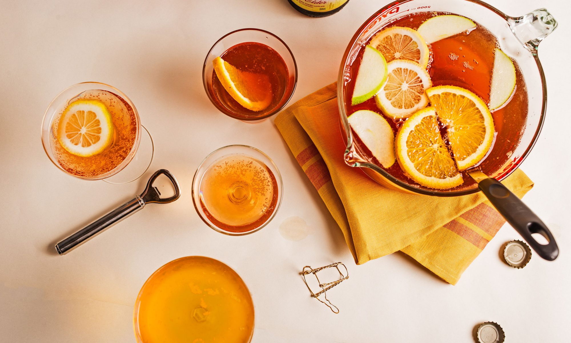 Hard Apple Cider Punch