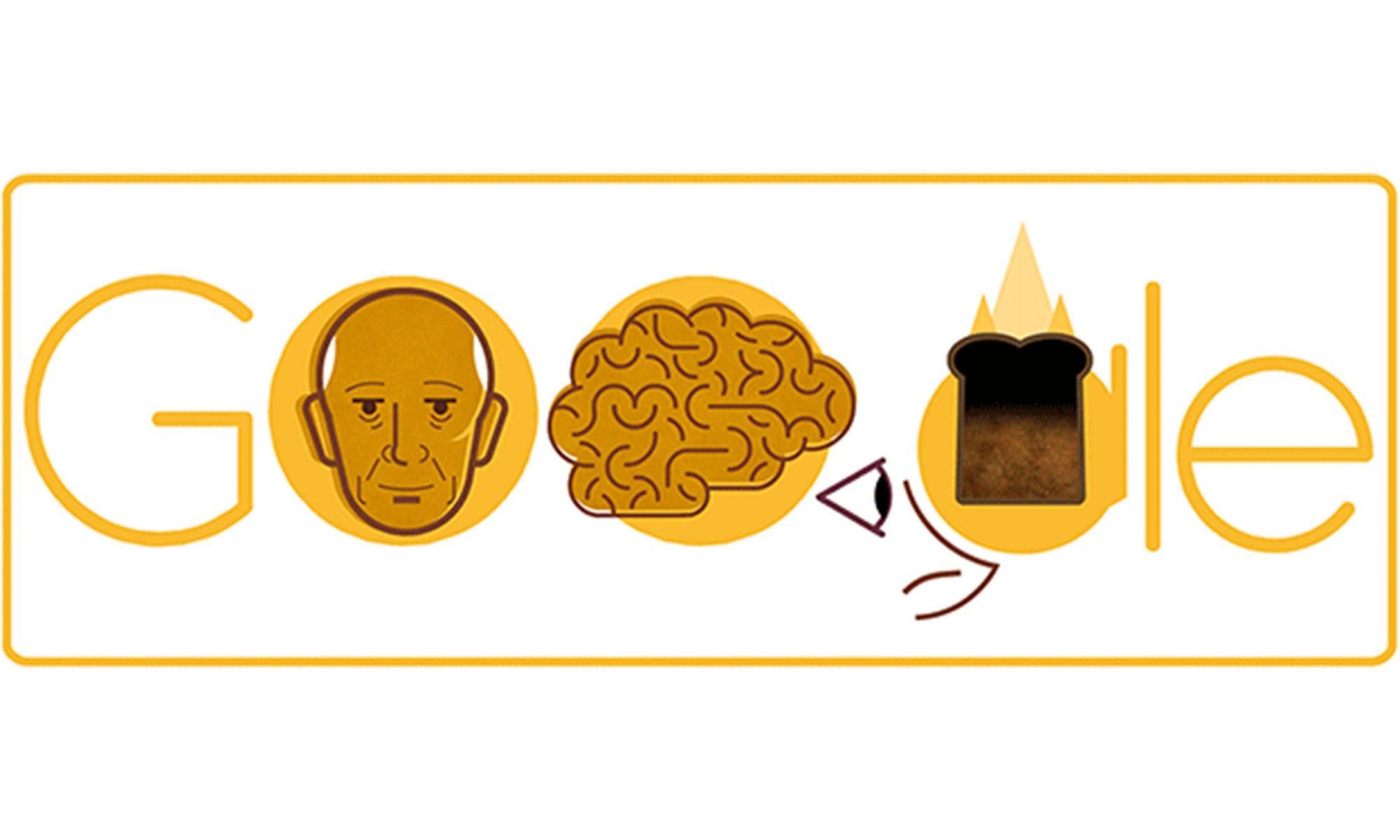google doodle burnt toast