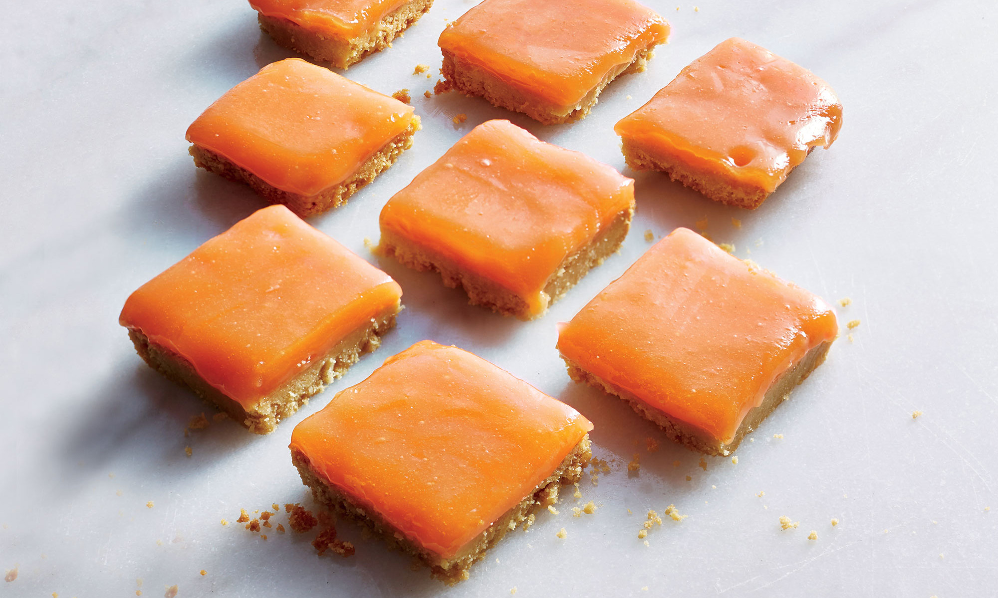 EC: Grapefruit-Campari Bars with Shortbread Crust