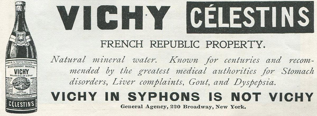 vichy water ad
