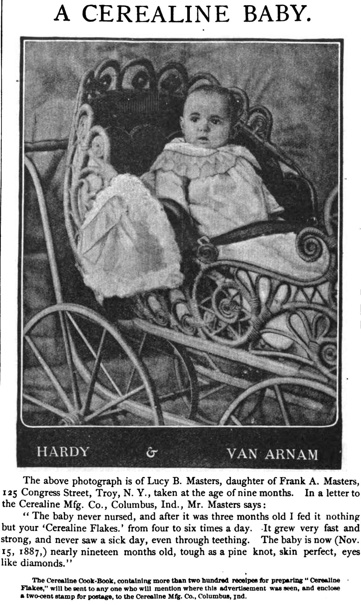 Ladies' Home Journal and Practical Housekeeper Vol.5 No.05 (April, 1888)