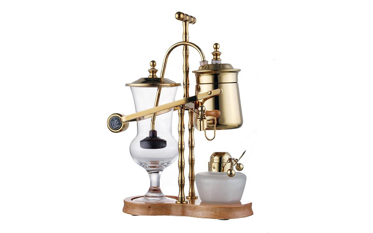 Diguo Belgian Belgium Luxury Royal Family Balance Syphon Coffee Maker