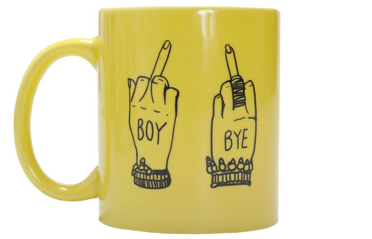 beyonce boy bye mug