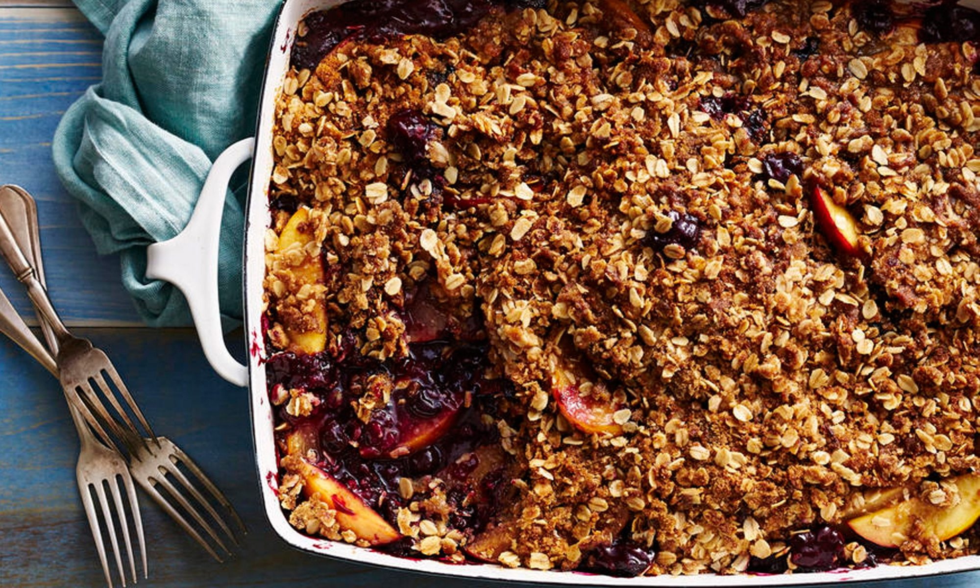 EC: Stone Fruit Crumbles Are Worth Turning On Your Oven For