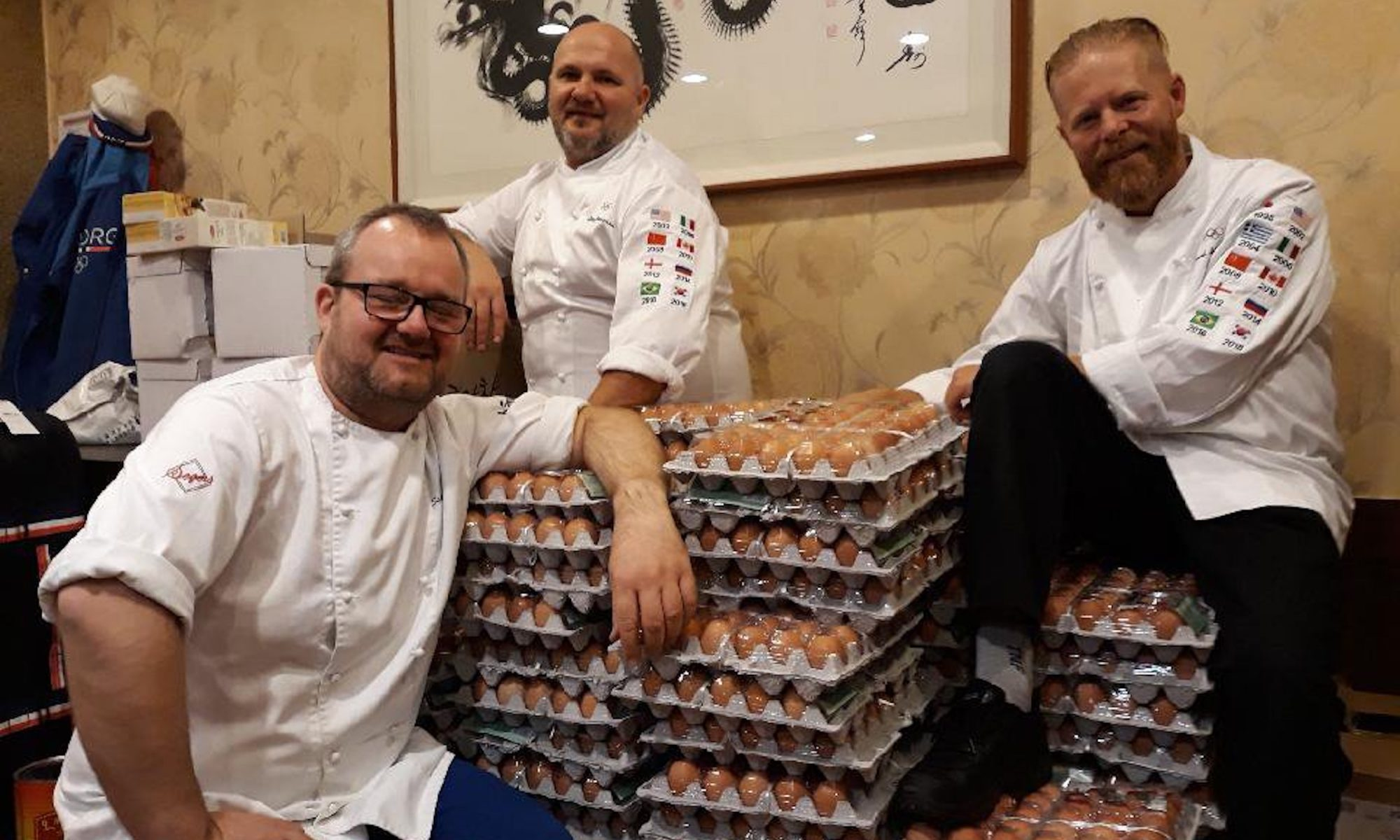 norway olympics egg delivery