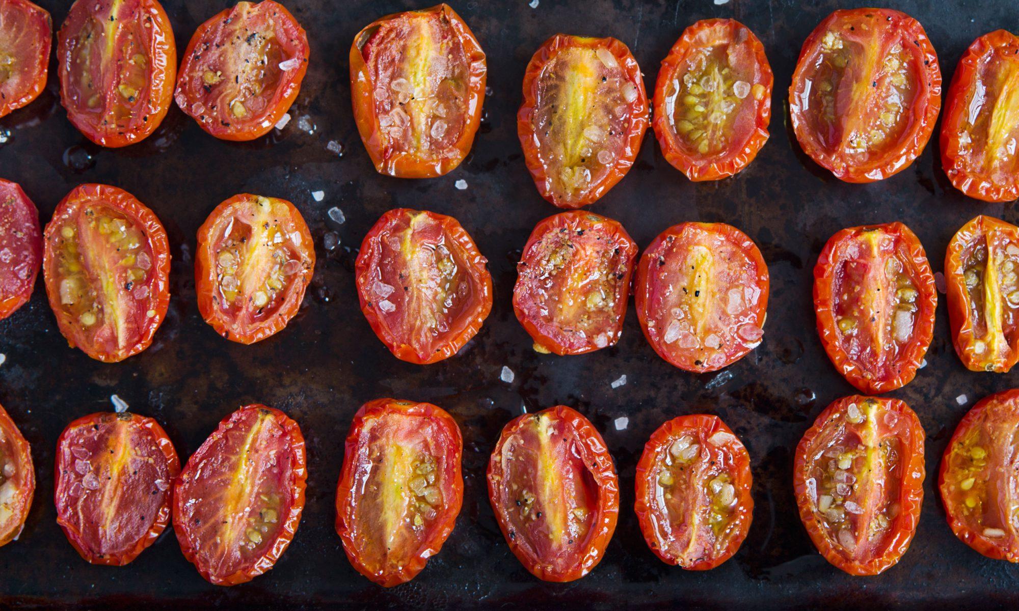 parmesan roasted tomatoes
