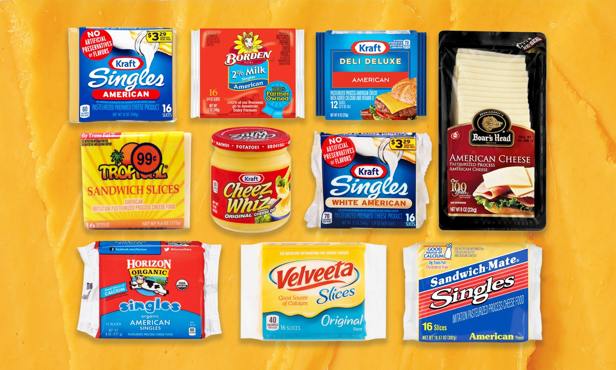 EC: I Tried 10 Processed Cheeses and Here's the Best One