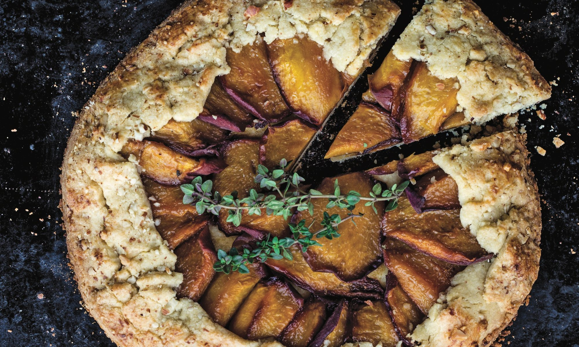 EC: This Sweet Breakfast Galette Will Make Your Morning Peachy