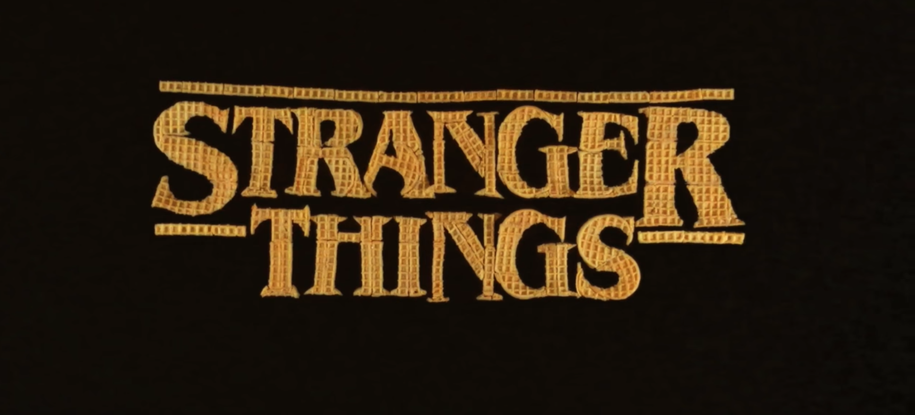 EC: Someone Made the 'Stranger Things' Intro Out of Eggo Waffles