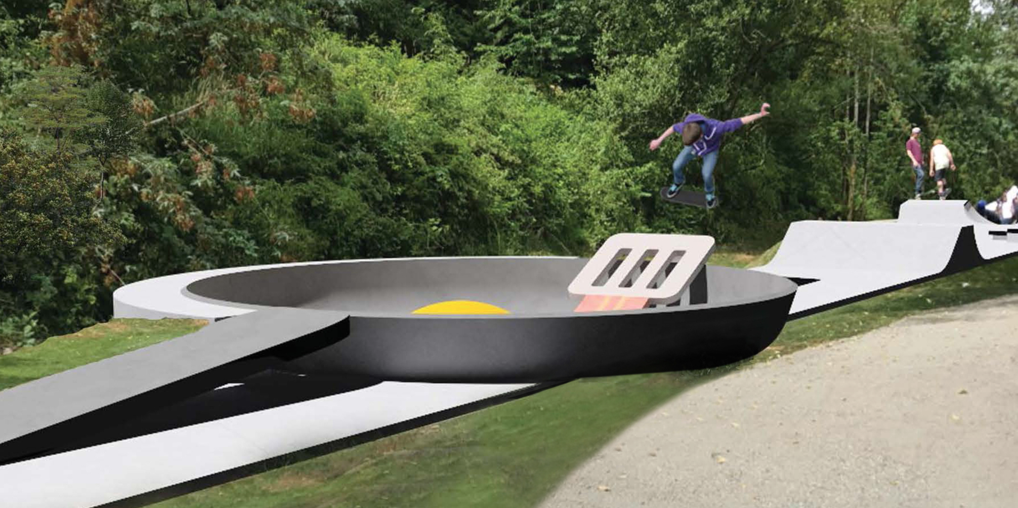 EC: A Giant Eggs-and-Bacon-Themed Skatepark Might Be Coming to Washington