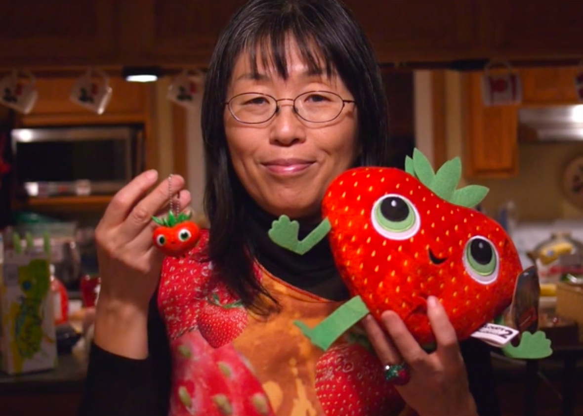EC: This Woman Is Absolutely Obsessed with Strawberries