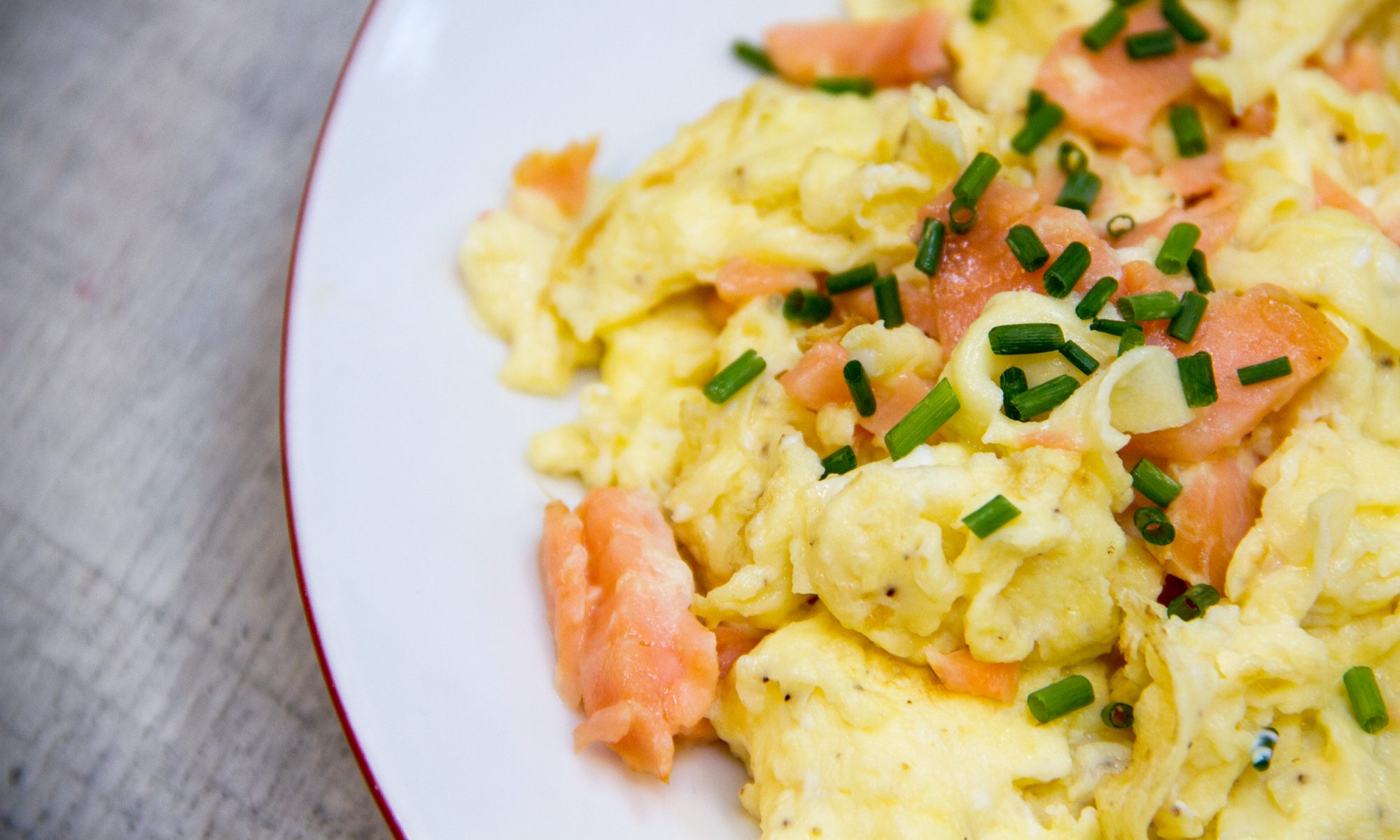 EC: Smoked Salmon Meets the World's Softest Scrambled Eggs