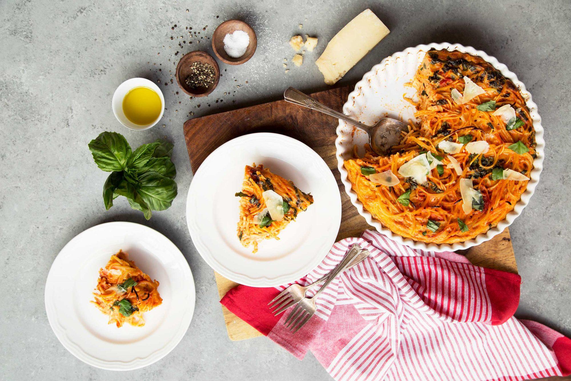 EC: Turn Leftover Spaghetti Into a Picture-Perfect Quiche