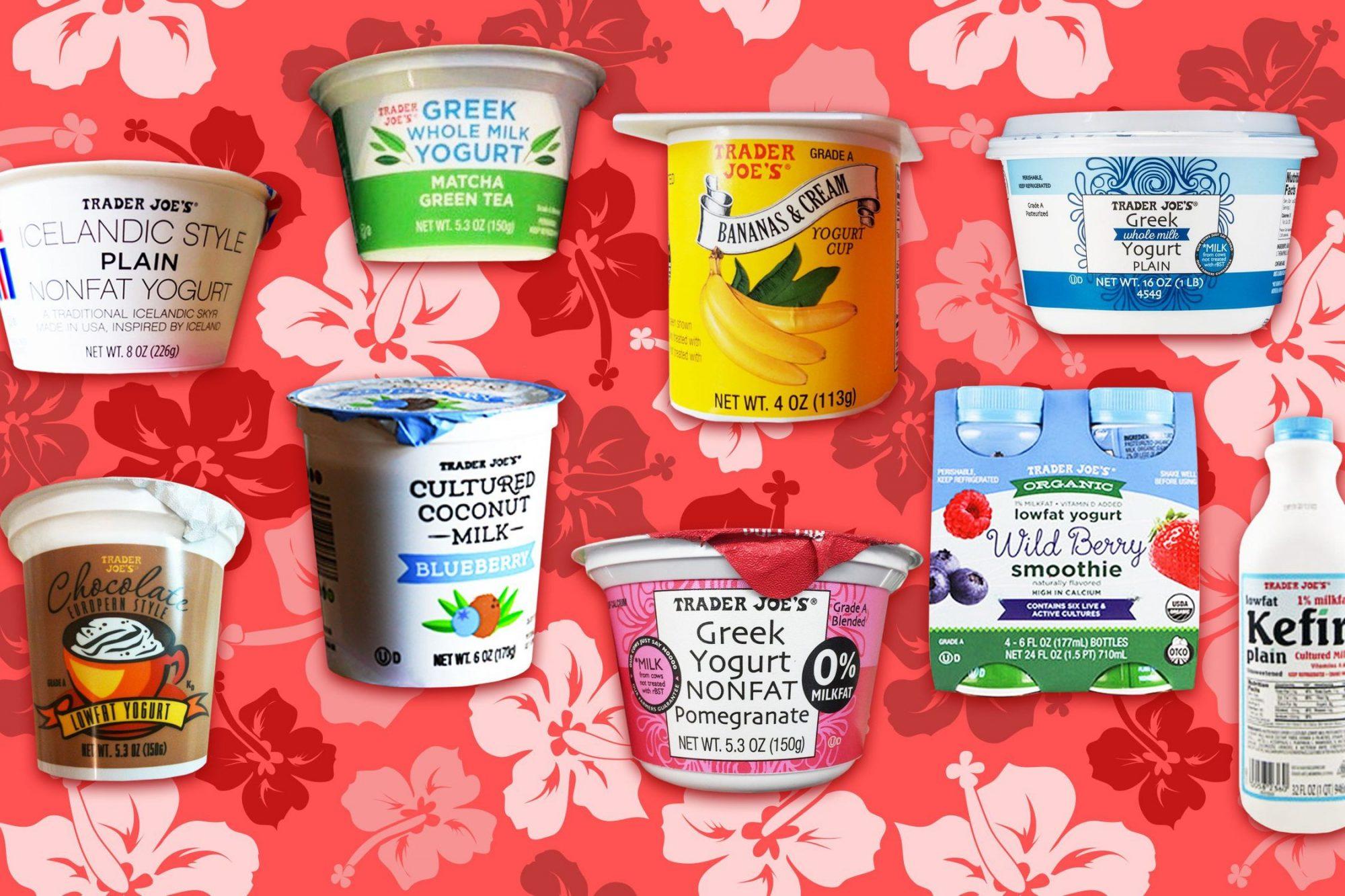 EC: The Best and Worst Trader Joe's Yogurts