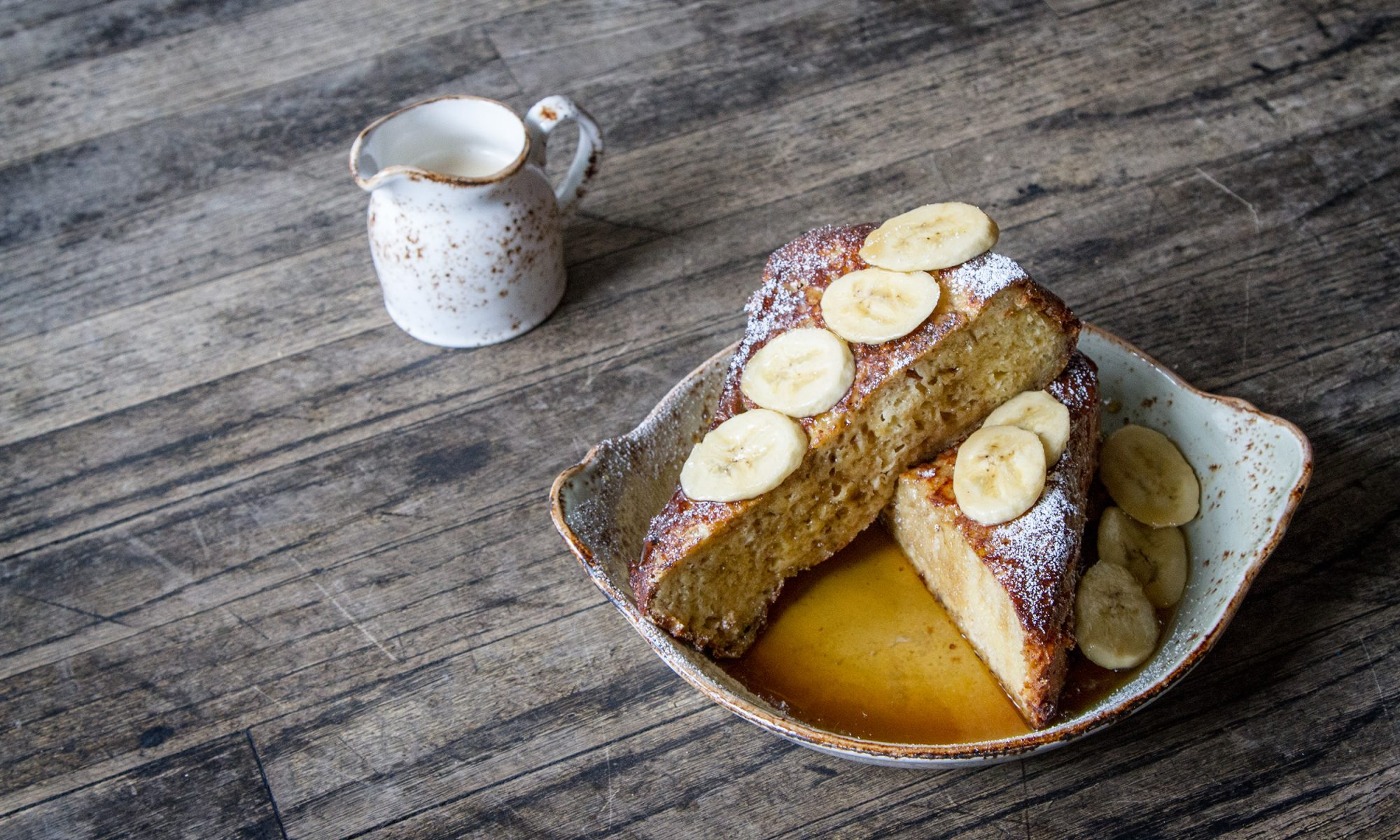 EC: This Tres Leches French Toast Is Doused in Tequila Caramel Sauce