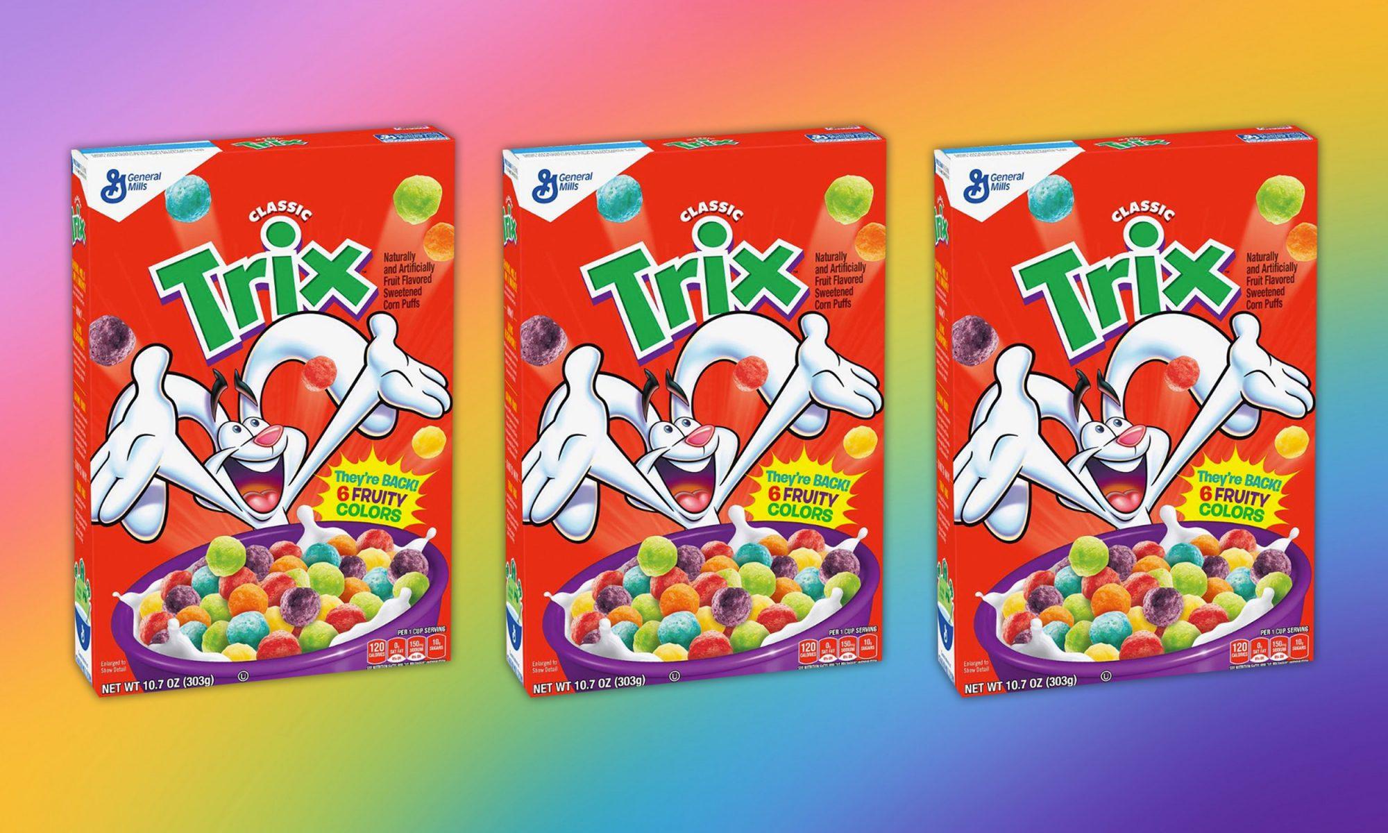 EC: Trix Cereal's Classic Artificial Colors Are Coming Back