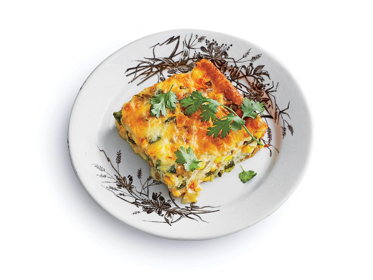 Green Chile-Corn Pudding