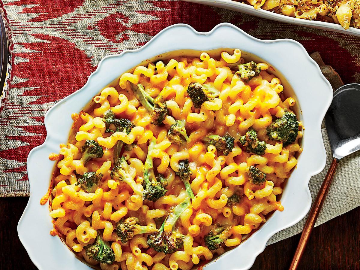 Roasted Broccoli Macaroni and Cheese