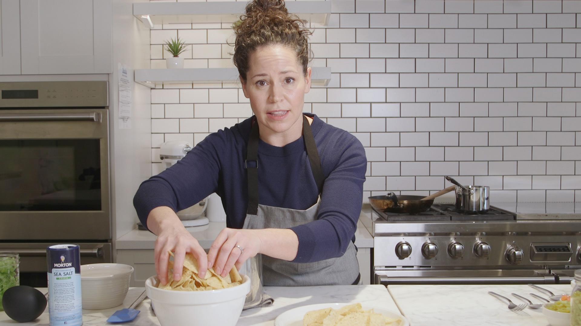 Stephanie Izard Makes Machos Nachos