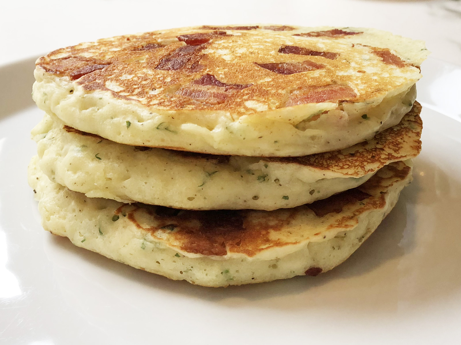 stack of ranch pancakes