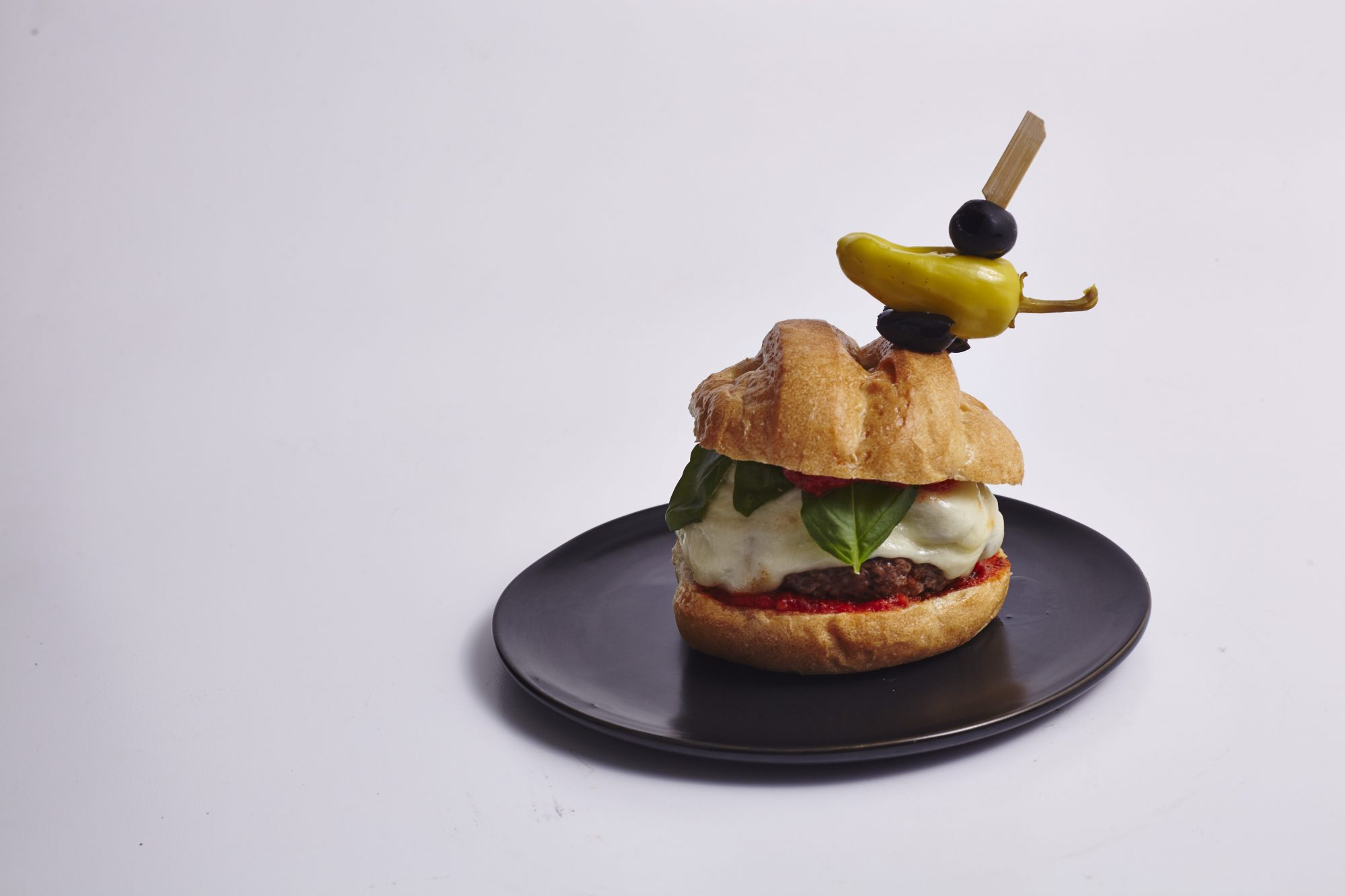Pizza-Stuffed Cheeseburger image