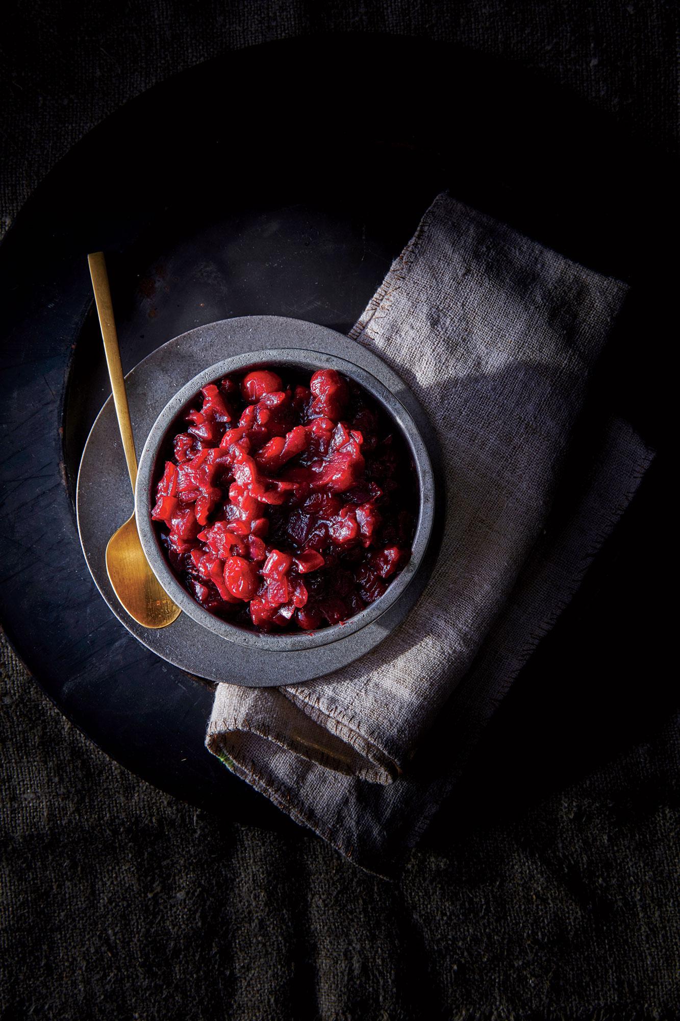 Balsamic Cranberry-Onion Jam