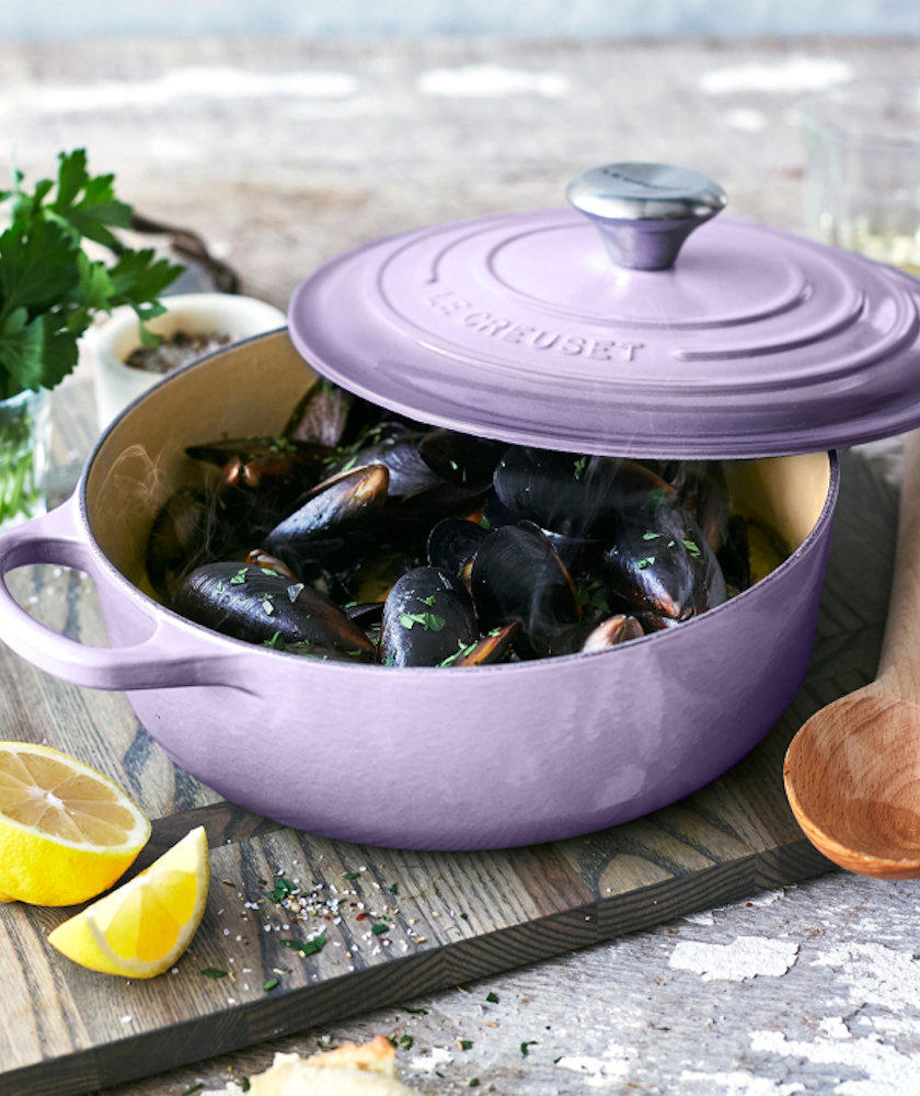5 Kitchen Brands With the Greatest Lifetime Warranties le-creuset-provence-oven