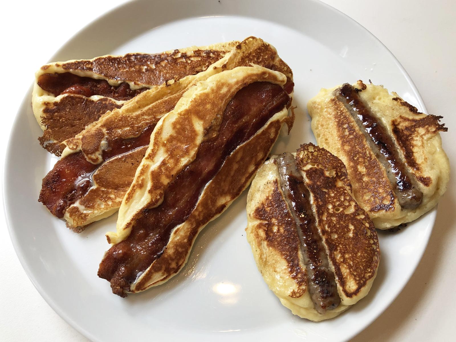 portable pancake sticks