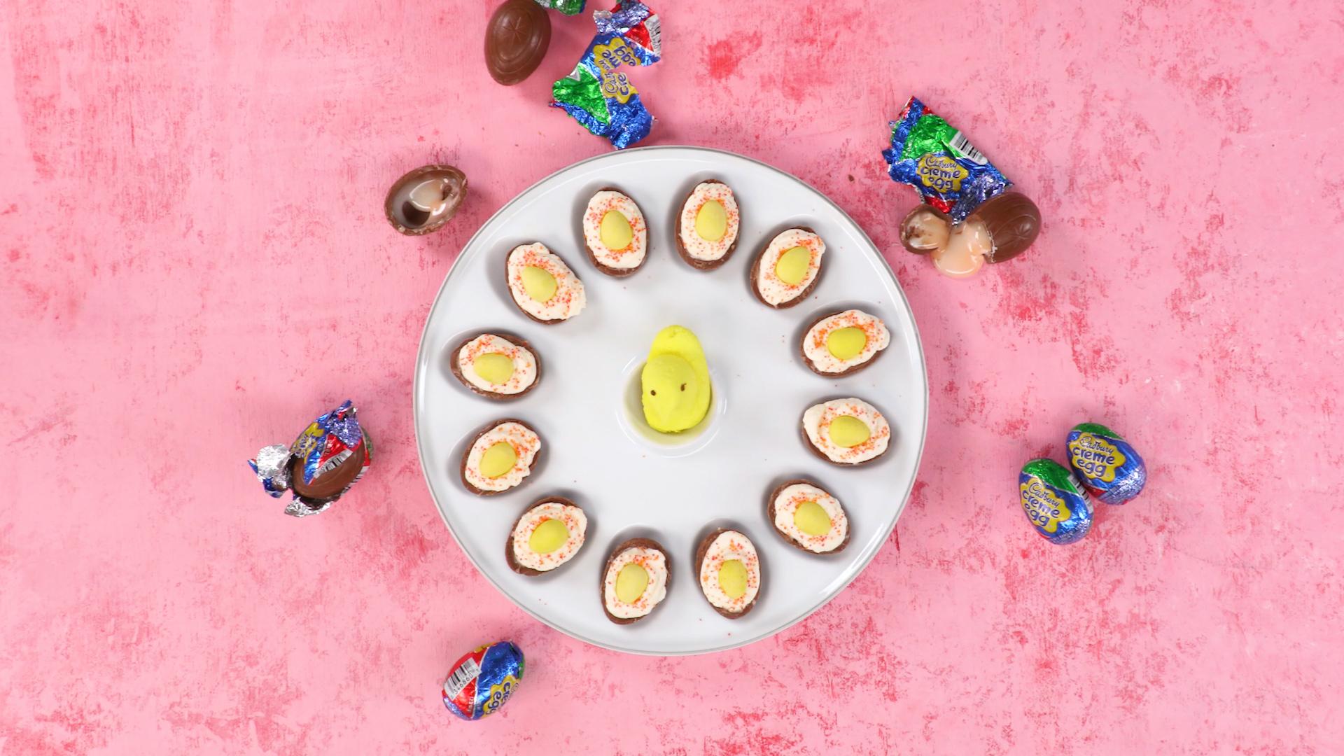 Deviled Cadbury Eggs image