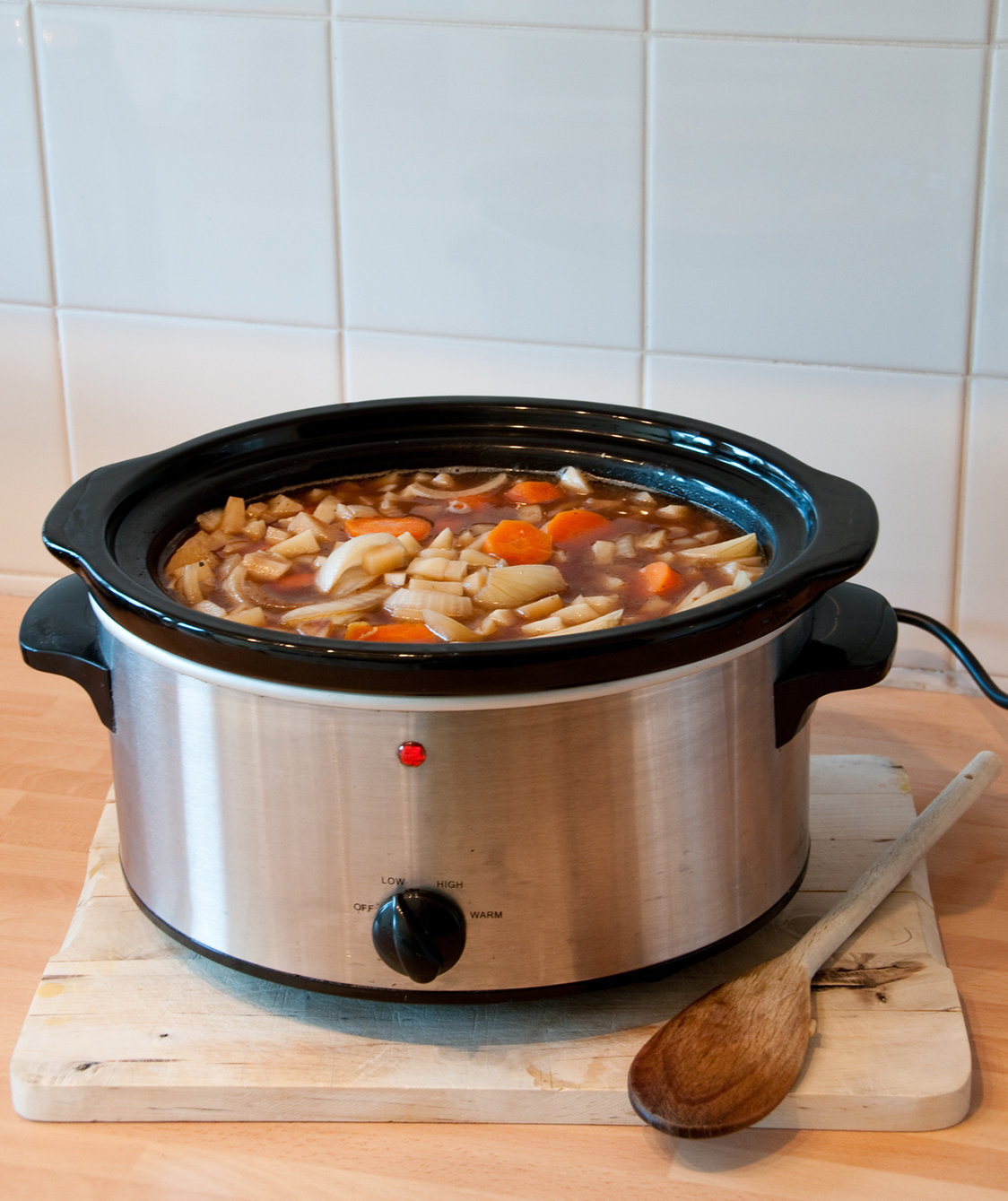 The One Dangerous Mistake You're Making With Your Slow Cooker
