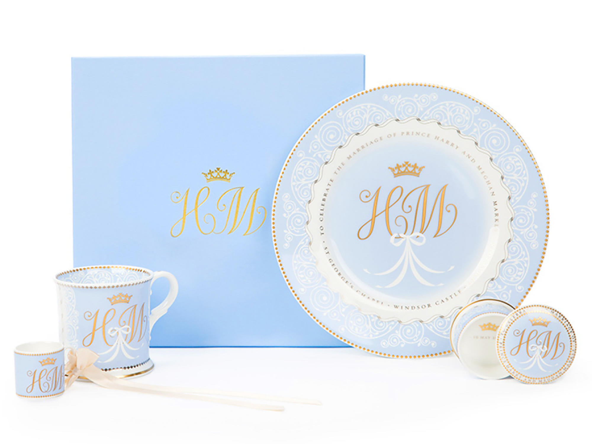 You Can Buy Meghan Markle and Prince Harry's Official Wedding China 1803w-Markle-Wedding-China