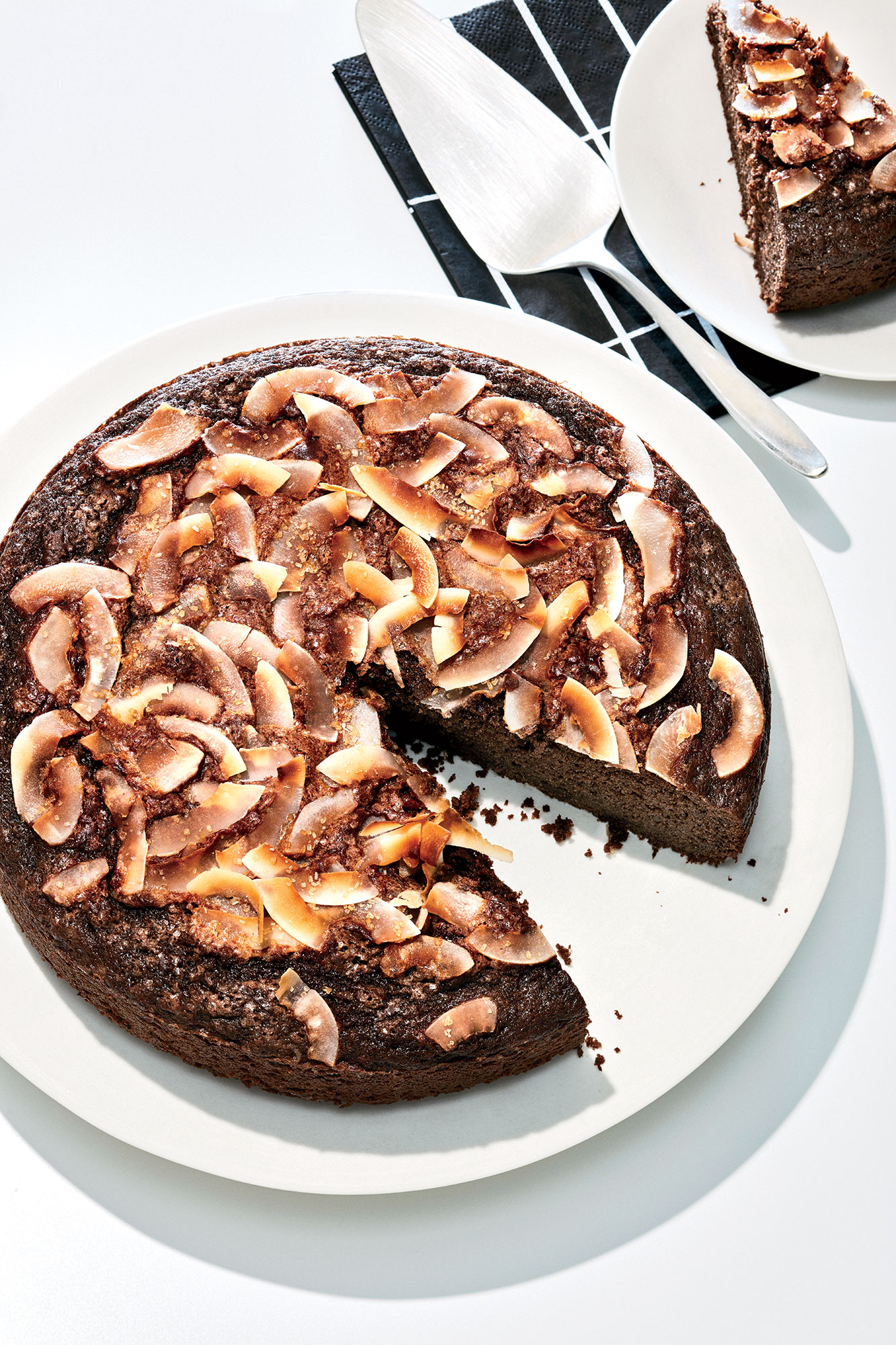 Brown Butter Cake with Cocoa