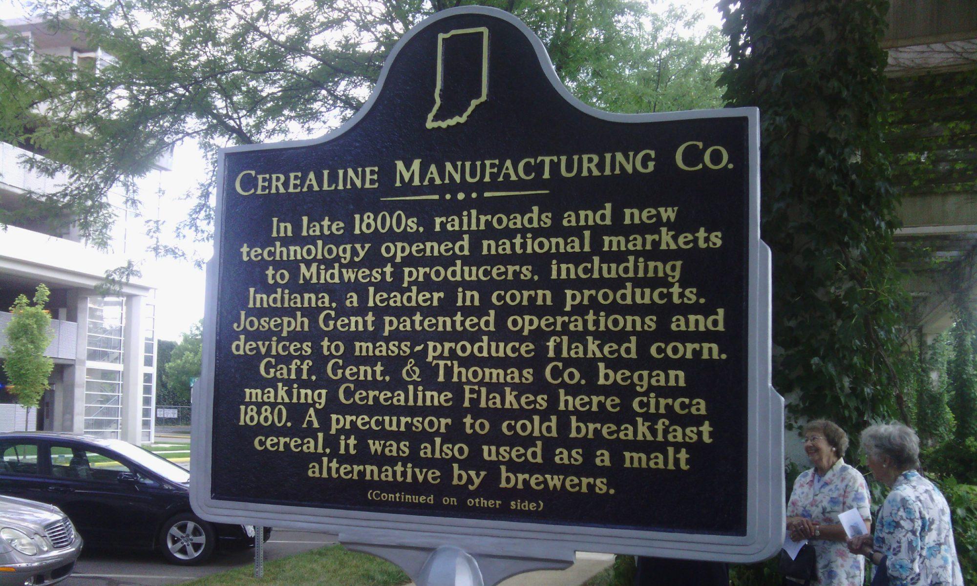 Cerealine sign