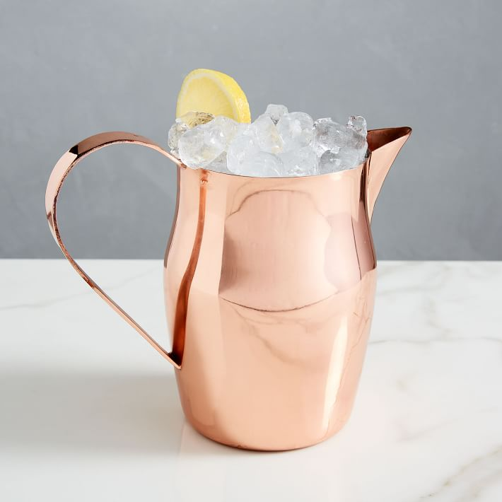 Shiny Copper Pitcher