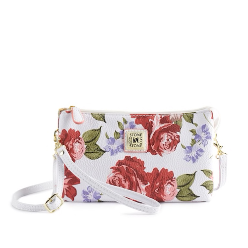 Stone & Co. Rose Bloom Trifecta Bag