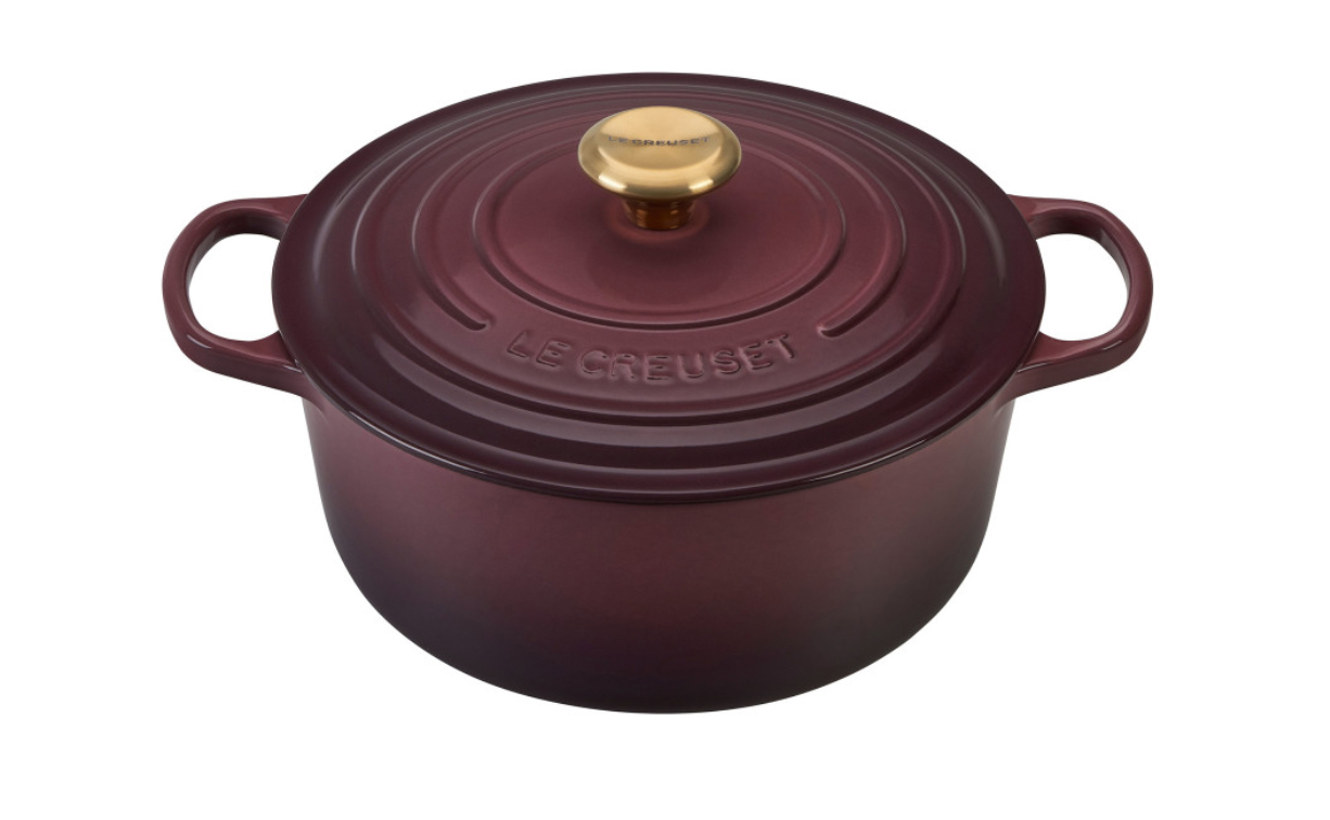 Le Creuset Fig Round Dutch Oven (5 1/2-quart)