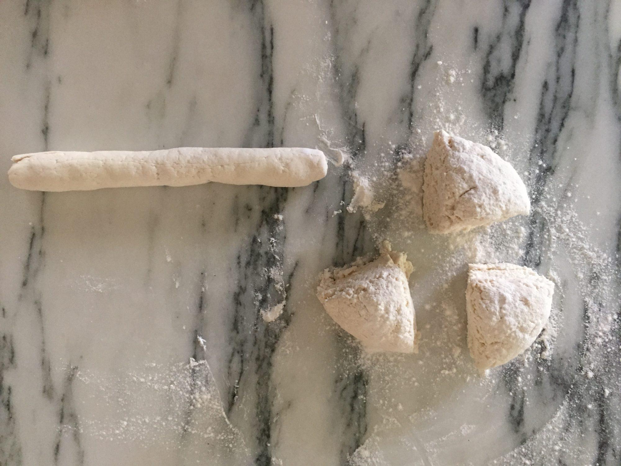 two-ingredient-bagels-pieces