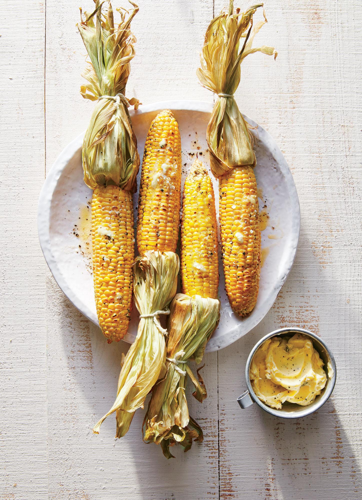 Applewood-Smoked Corn on the Cob