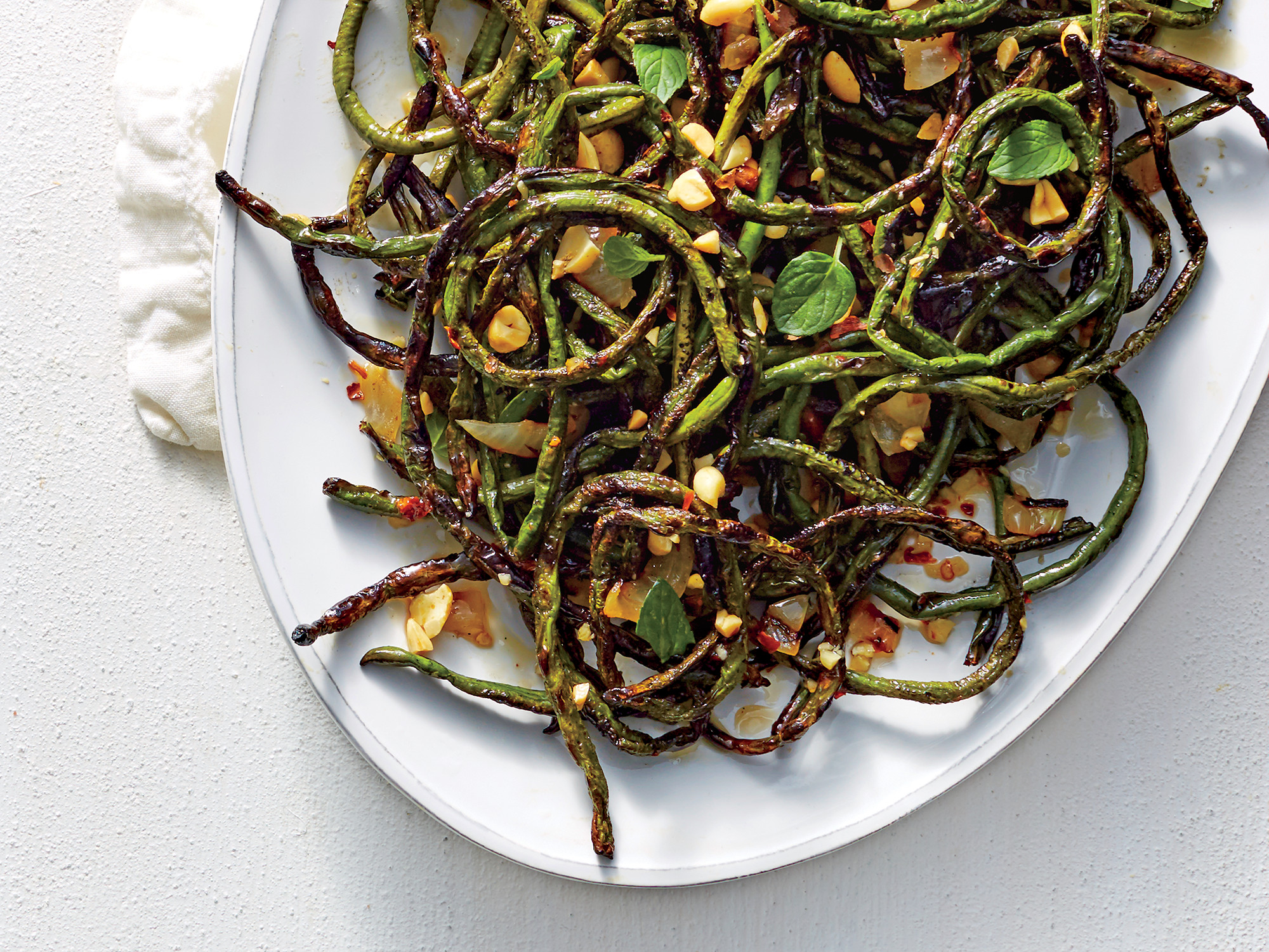 Charred Bean Salad